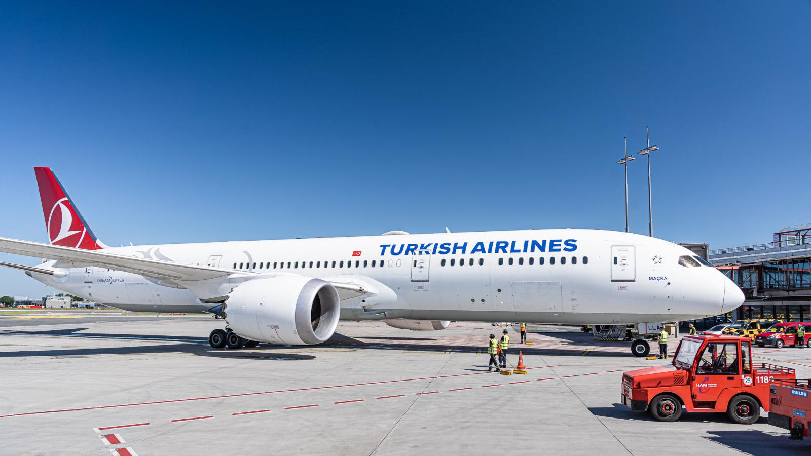 Turkish Airlines aircraft