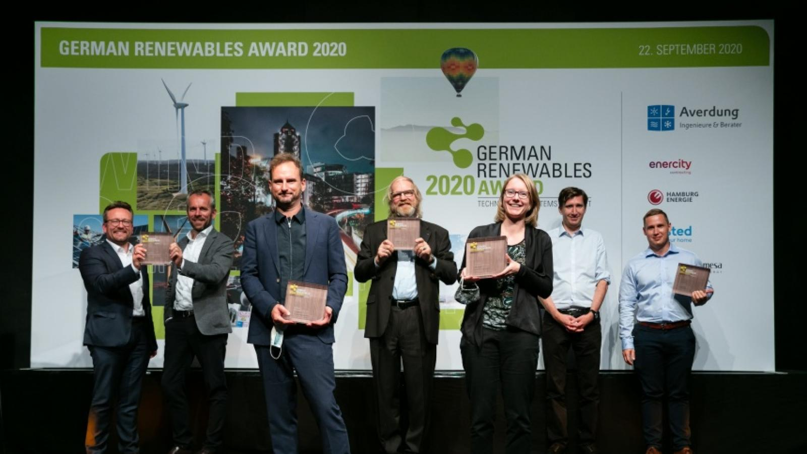 Winners of German Renewables Award